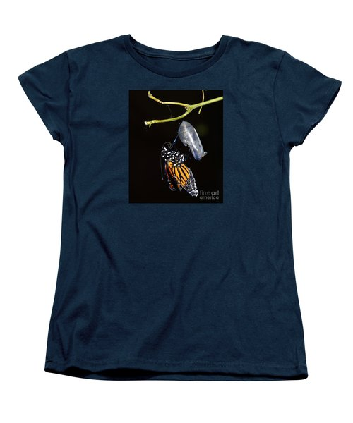 Women's T-Shirt (Standard Cut) featuring the photograph Emergent by Lew Davis