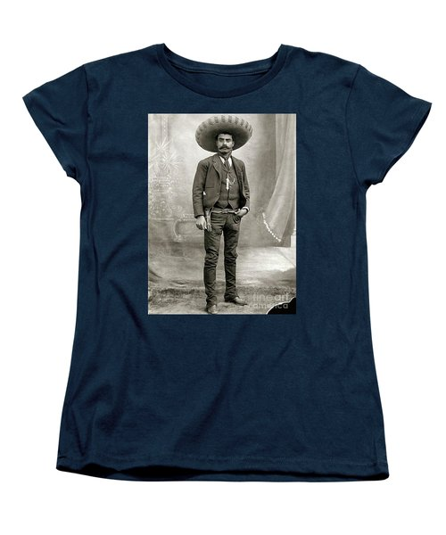 Women's T-Shirt (Standard Cut) featuring the photograph Emiliano Zapata by Roberto Prusso