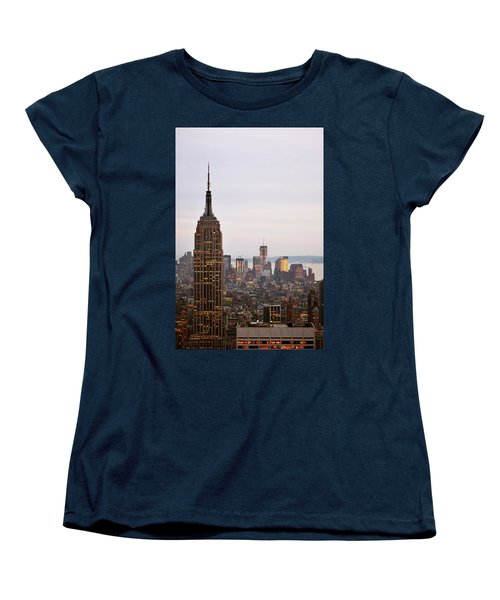 Empire State Building No.2 Women's T-Shirt (Standard Cut) by Zawhaus Photography