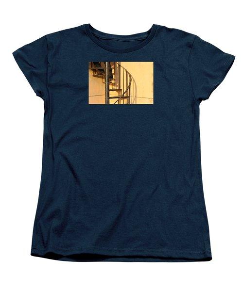 En Route Women's T-Shirt (Standard Cut) by Prakash Ghai