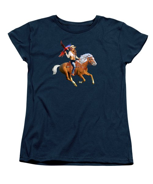Enchanted Jungle Rider Women's T-Shirt (Standard Cut)