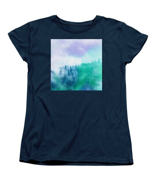 Enchanted Scenery Women's T-Shirt (Standard Cut) by Klara Acel