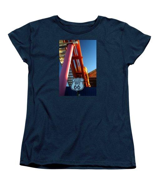 End Of Route 66 2 Women's T-Shirt (Standard Cut)