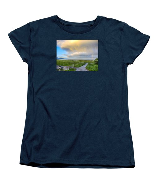 End Of The Road, Brora, Scotland Women's T-Shirt (Standard Cut) by Sally Ross