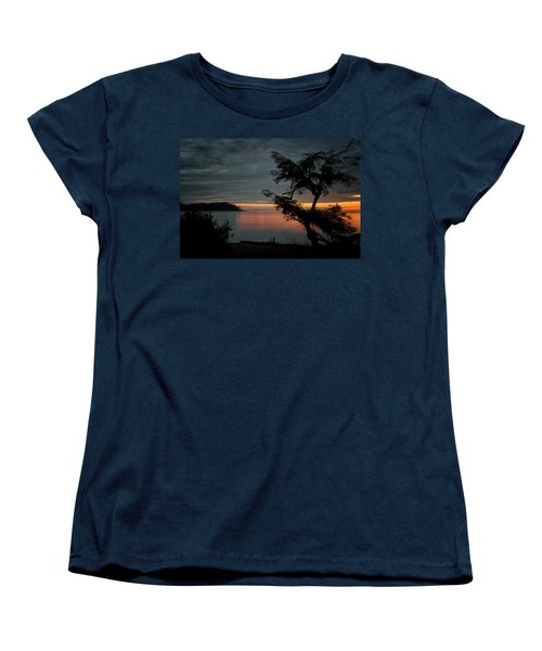 End Of The Trail Women's T-Shirt (Standard Cut) by Randy Hall