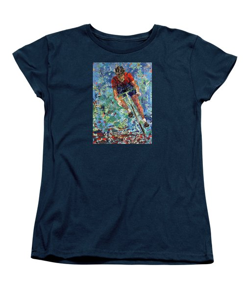 Enduring The Last Mile Women's T-Shirt (Standard Cut) by Walter Fahmy