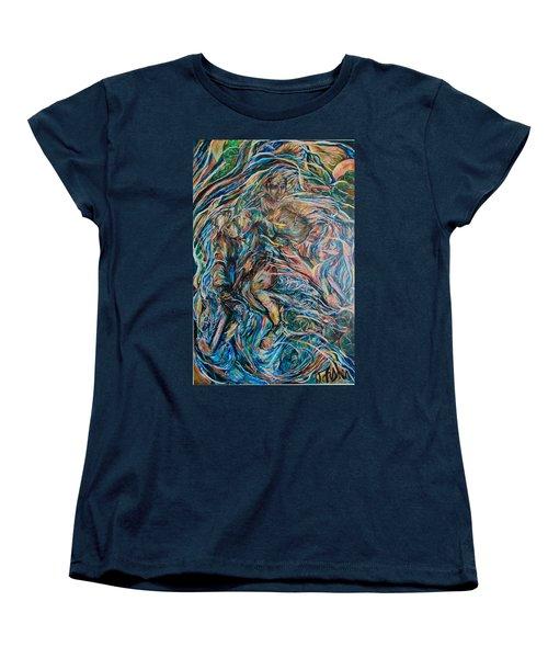Energy Women's T-Shirt (Standard Cut) by Dawn Fisher