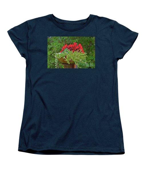 Enjoy The Garden Women's T-Shirt (Standard Cut) by Ray Shrewsberry
