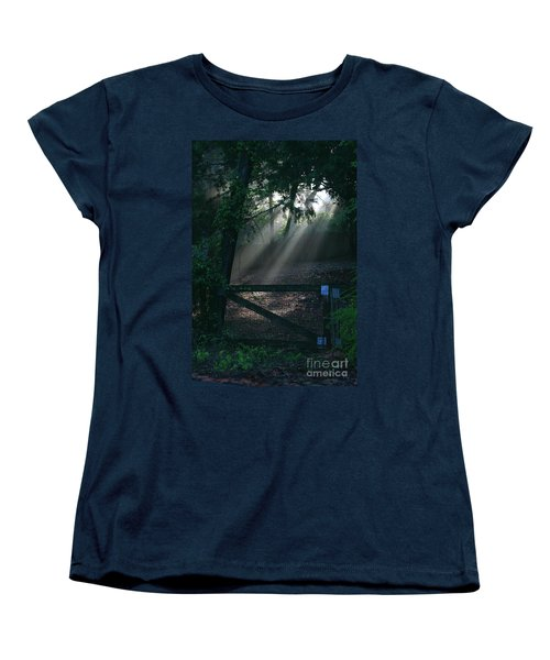 Enlighten Women's T-Shirt (Standard Cut) by Lori Mellen-Pagliaro