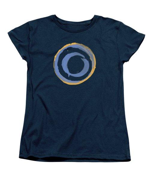 Enso T Blue Orange Women's T-Shirt (Standard Cut) by Julie Niemela