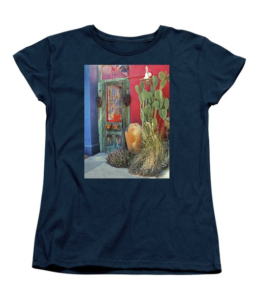 Enter - You Are Always Welcome Women's T-Shirt (Standard Cut) by Lucinda Walter