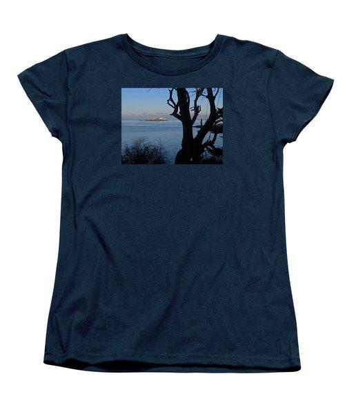 Entrance Island, Bc Women's T-Shirt (Standard Cut) by Anne Havard