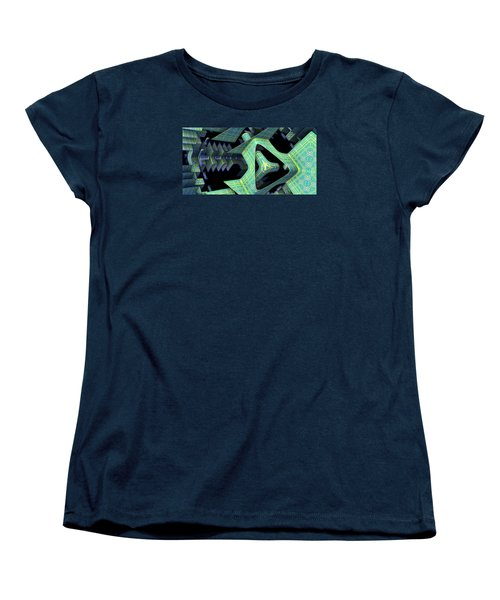 Women's T-Shirt (Standard Cut) featuring the digital art Epic by Lyle Hatch