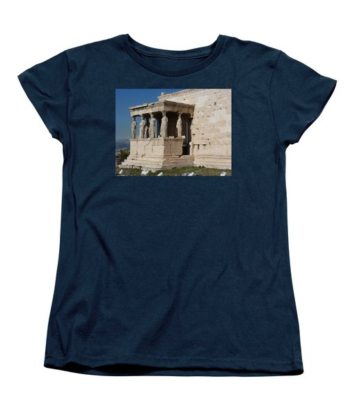 Erechteion With Nike Temple Women's T-Shirt (Standard Cut)