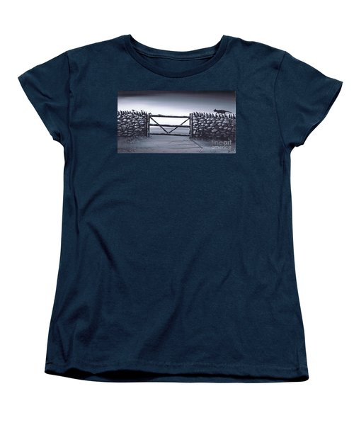 Escape Plan Women's T-Shirt (Standard Cut) by Kenneth Clarke