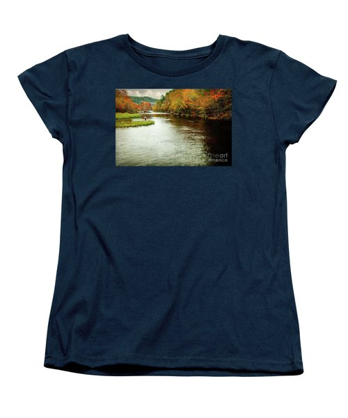 Escape To Beaver's Bend Women's T-Shirt (Standard Cut) by Tamyra Ayles