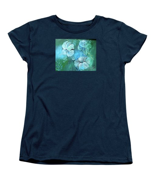 Escape To Serenity Women's T-Shirt (Standard Cut) by Jenny Lee