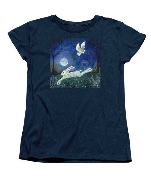 Escape With A Blessing Women's T-Shirt (Standard Cut) by Lise Winne