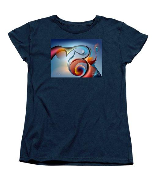Eternal Movement - Wrapping Women's T-Shirt (Standard Cut) by Leo Symon