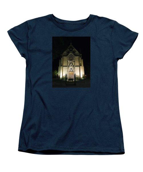 Women's T-Shirt (Standard Cut) featuring the photograph Evening At Loretto Chapel Santa Fe by Kurt Van Wagner
