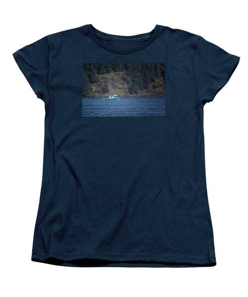 Evening Breeze Women's T-Shirt (Standard Cut) by Randy Hall