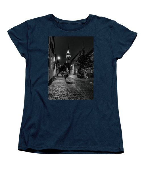 Evening In Bergheim Women's T-Shirt (Standard Cut) by Alan Toepfer