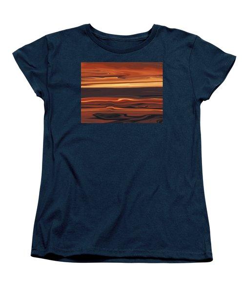 Evening In Ottawa Valley 1 Women's T-Shirt (Standard Cut) by Rabi Khan