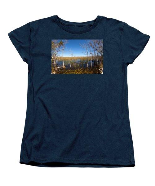 Everglades 85 Women's T-Shirt (Standard Cut) by Michael Fryd