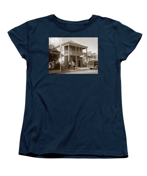 Everyone Says Hi - From Pepes Cafe Key West Florida Women's T-Shirt (Standard Cut) by John Stephens