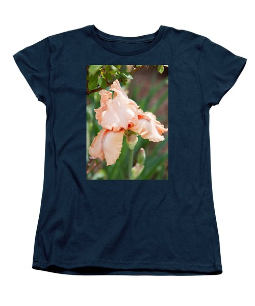 Women's T-Shirt (Standard Cut) featuring the photograph Everything Is Peachy by Sherry Hallemeier