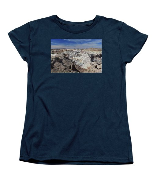 Women's T-Shirt (Standard Cut) featuring the photograph Evident Erosion by Gary Kaylor