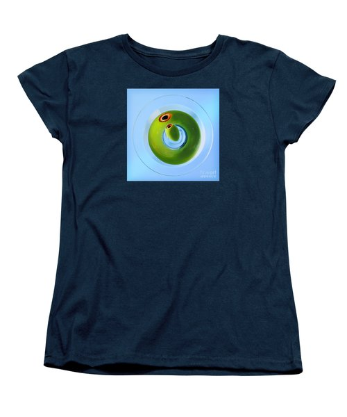 Women's T-Shirt (Standard Cut) featuring the photograph Olive Eye by Martin Konopacki