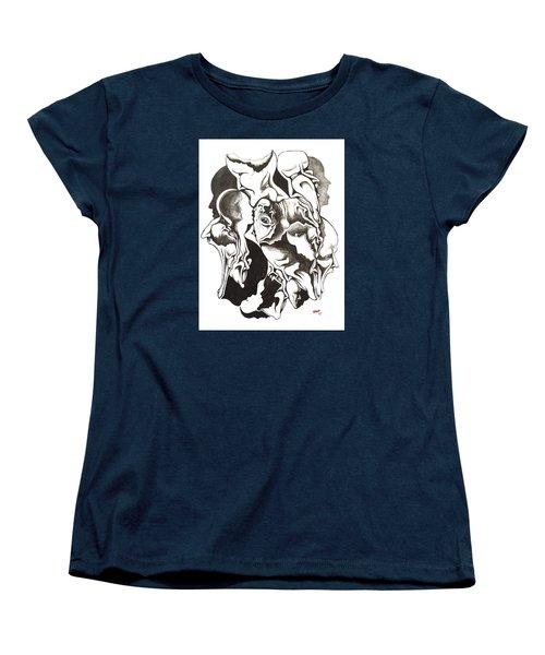 Evolution In Mind  Women's T-Shirt (Standard Cut) by Michael  TMAD Finney