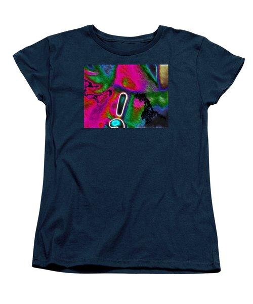 Women's T-Shirt (Standard Cut) featuring the digital art Exclamation Mark by Maciek Froncisz