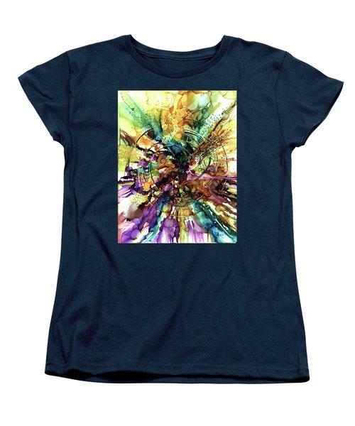 Expanding Universe Women's T-Shirt (Standard Cut) by Alika Kumar