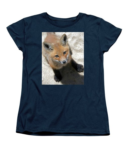 Eye Contact Women's T-Shirt (Standard Cut) by Stephen Flint
