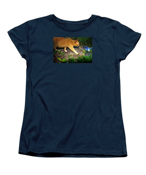 Eye To Eye Women's T-Shirt (Standard Cut) by Nick Kloepping