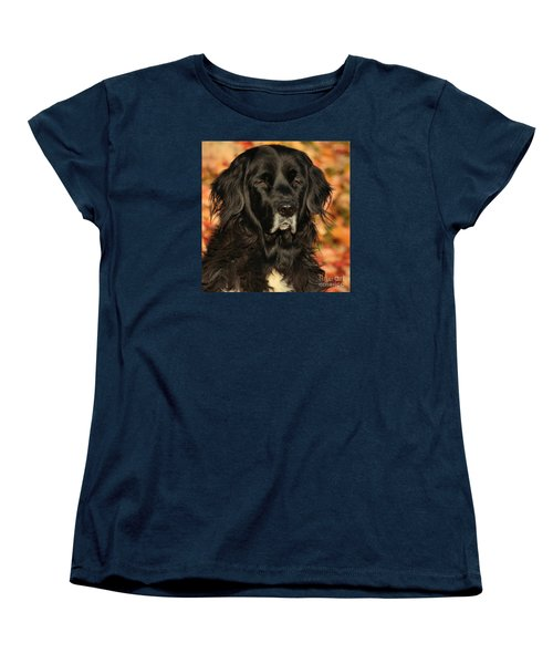 Women's T-Shirt (Standard Cut) featuring the photograph Eyes Of Autumn by Debbie Stahre