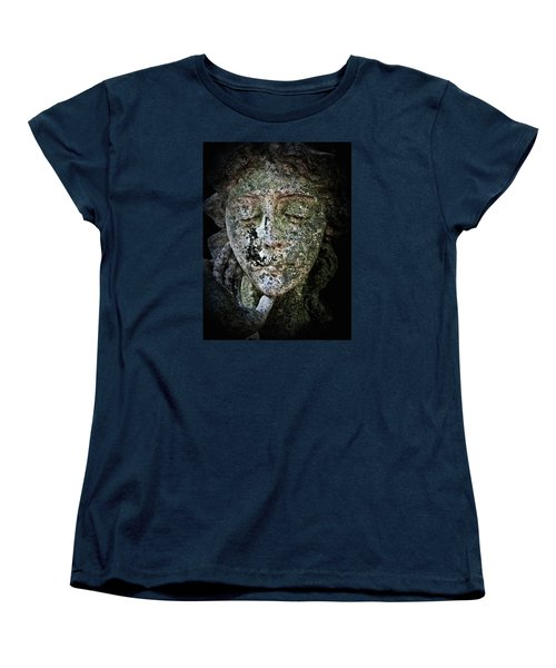 Women's T-Shirt (Standard Cut) featuring the photograph Face Of An Angel 11 by Maria Huntley