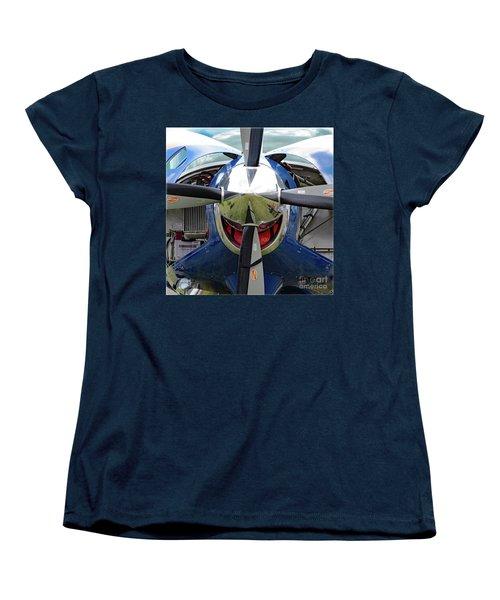 Faces Of Oshkosh 2012. #03 Women's T-Shirt (Standard Cut) by Ausra Huntington nee Paulauskaite