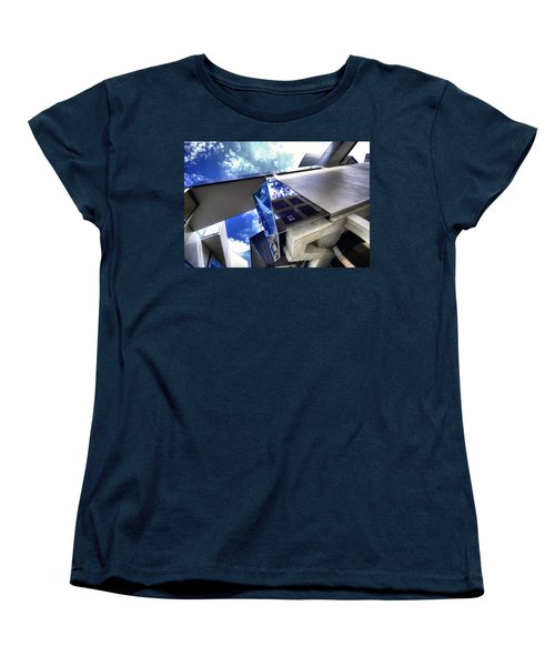 Women's T-Shirt (Standard Cut) featuring the photograph Facetted by Wayne Sherriff