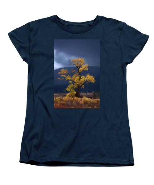 Facing The Storm Women's T-Shirt (Standard Cut)