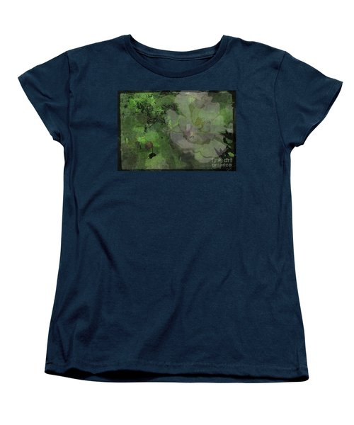 Faded Rose Women's T-Shirt (Standard Cut) by Kathie Chicoine