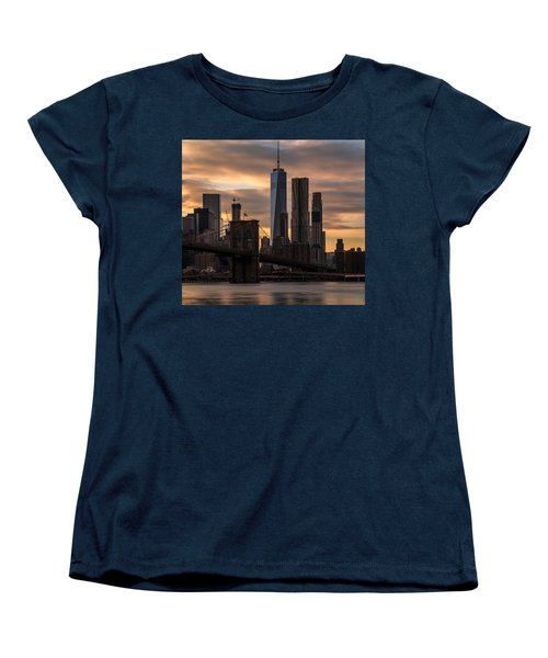 Women's T-Shirt (Standard Cut) featuring the photograph Fading Light  by Anthony Fields