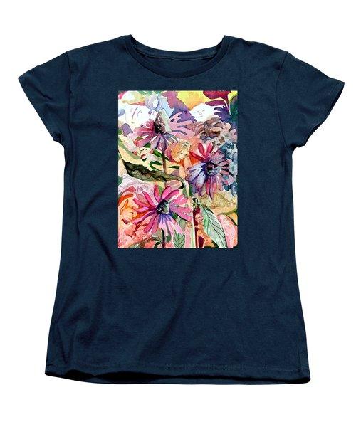 Fairy Land Women's T-Shirt (Standard Cut) by Mindy Newman