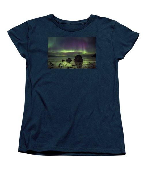 Fairytale Beach Women's T-Shirt (Standard Cut)