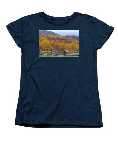 Fall Blend Women's T-Shirt (Standard Cut) by Eric Liller