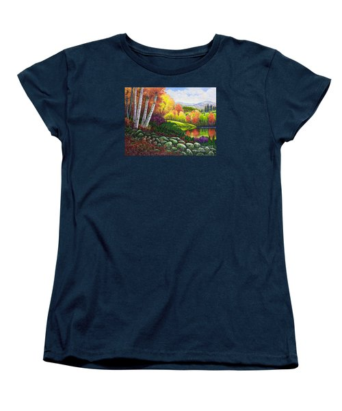 Fall Colors Women's T-Shirt (Standard Cut) by Michael Frank