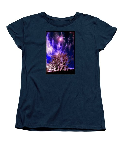 Fall Days In The Later World Women's T-Shirt (Standard Cut) by Susanne Still