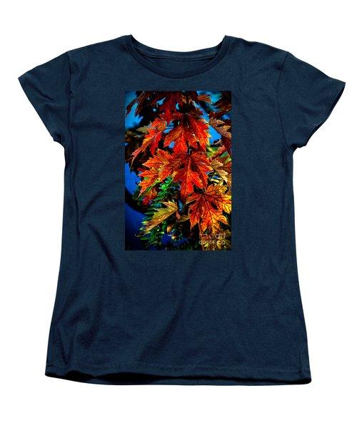 Fall Reds Women's T-Shirt (Standard Cut) by Robert Bales